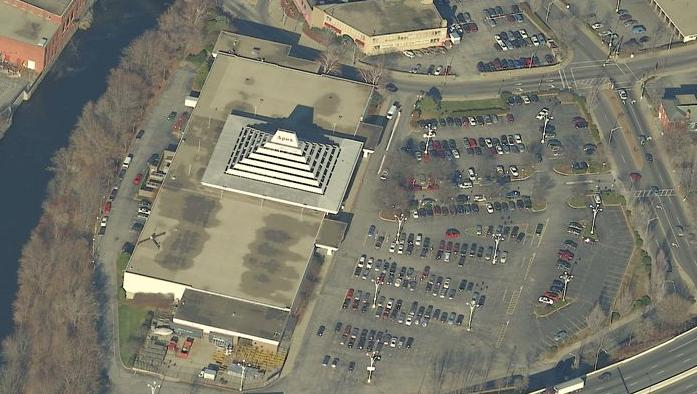 Apex in Pawtucket, Rhode Island aerial view