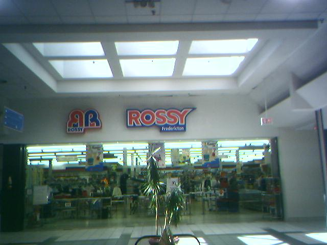 Rossy Fredricton inside Brookside Mall in Fredricton, NB