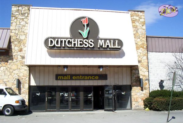 Mall entrance to Dutchess Mall in Fishkill, NY.