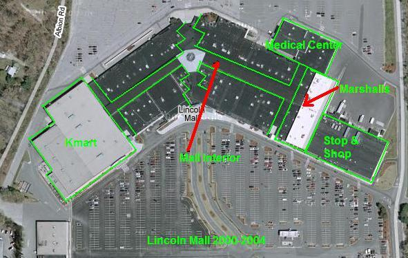 Old Lincoln Mall Site Plan