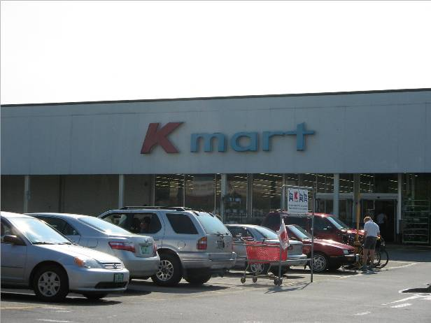 super kmart logo. of their logos or decor,