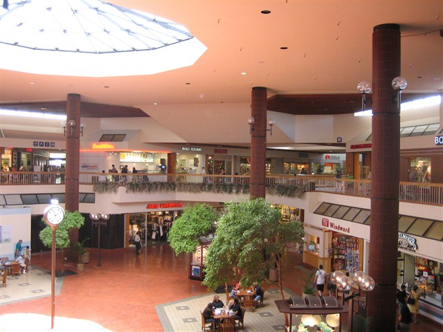 Windward Mall Center Court in Kaneohe, HI