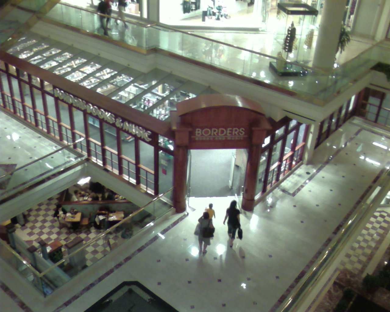 Atrium Mall in Newton, Massachusetts