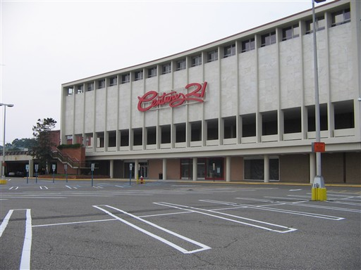 Century 21 Store (Former Macy's/Stern's) at Bergen Mall in Paramus, NJ