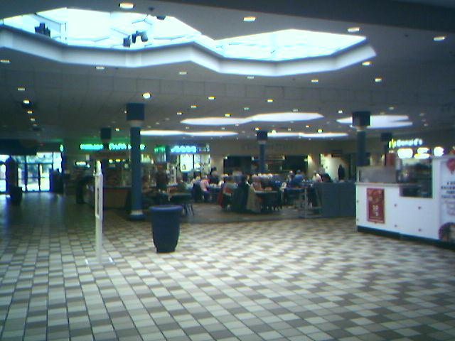 Old (now demolished) food court at Capital City Mall in Camp Hill, PA