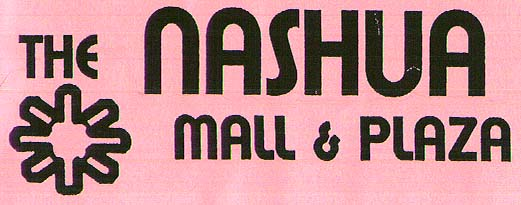 Nashua Mall logo from an old mall flyer, circa 2000-2001
