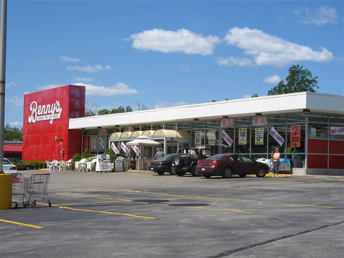 Benny's Home and Auto Store in Raynham, Massachusetts