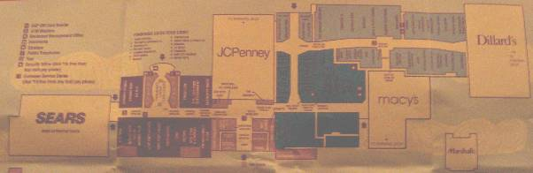 Fashion Show Directory Map Fashion Show - Fashion Show Mall 9