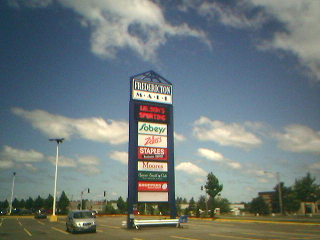 Fredericton Mall in Fredericton, New Brunswick