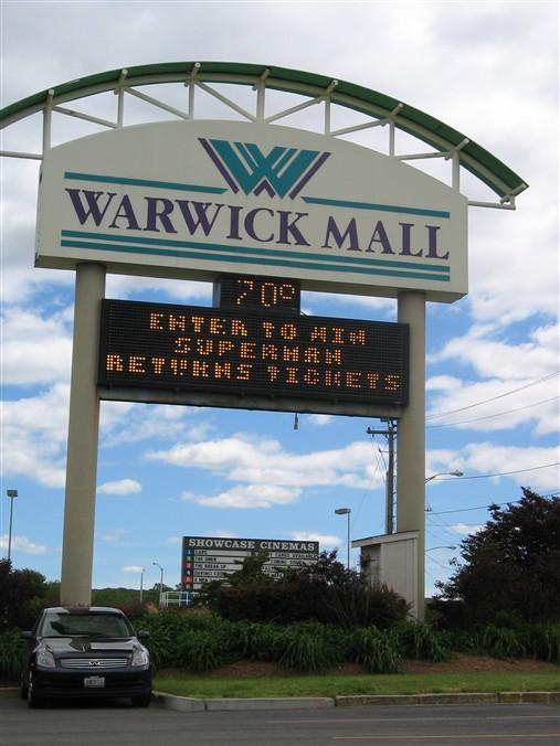 Warwick Rhode Island Shopping Center