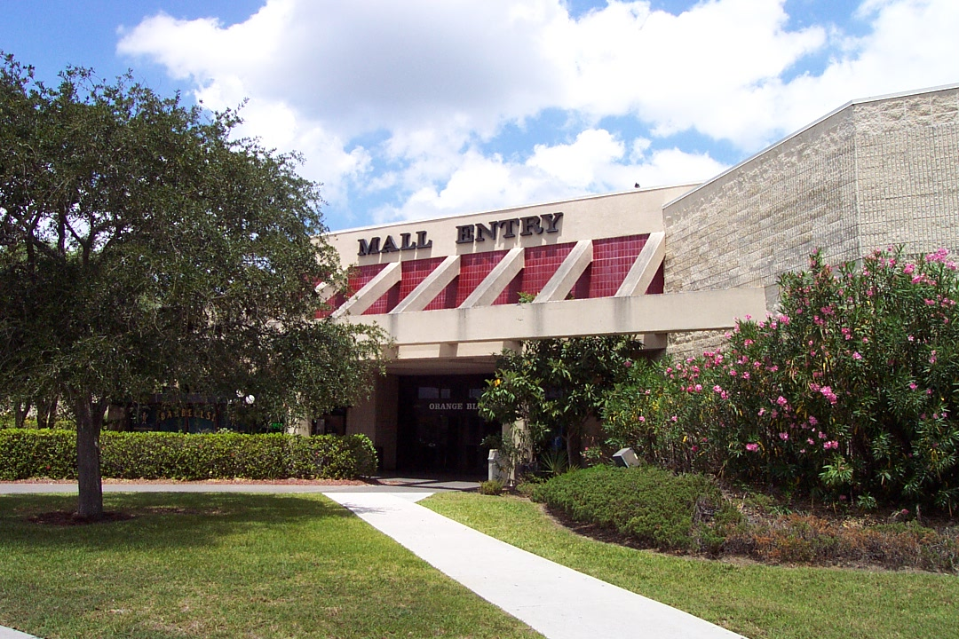 Orange Blossom Mall southwest entrance in Fort Pierce, fL