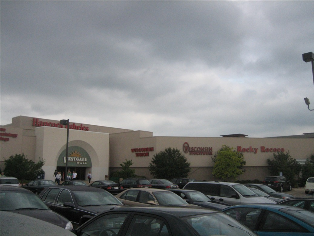 Westgate Mall exterior in Madison, WI