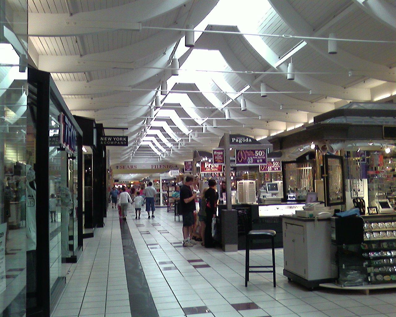 Auburn Mall in Auburn, Massachusetts