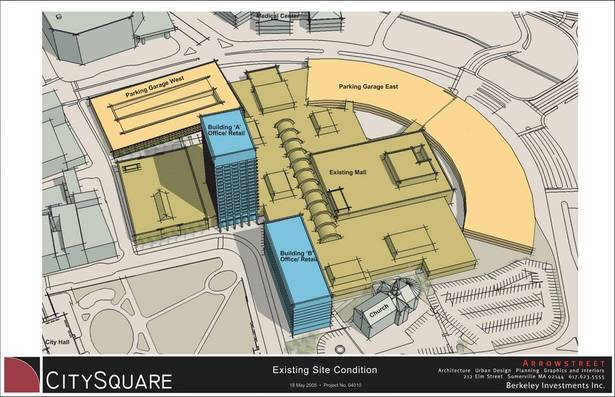 Current Worcester Common Fashion Outlets configuration