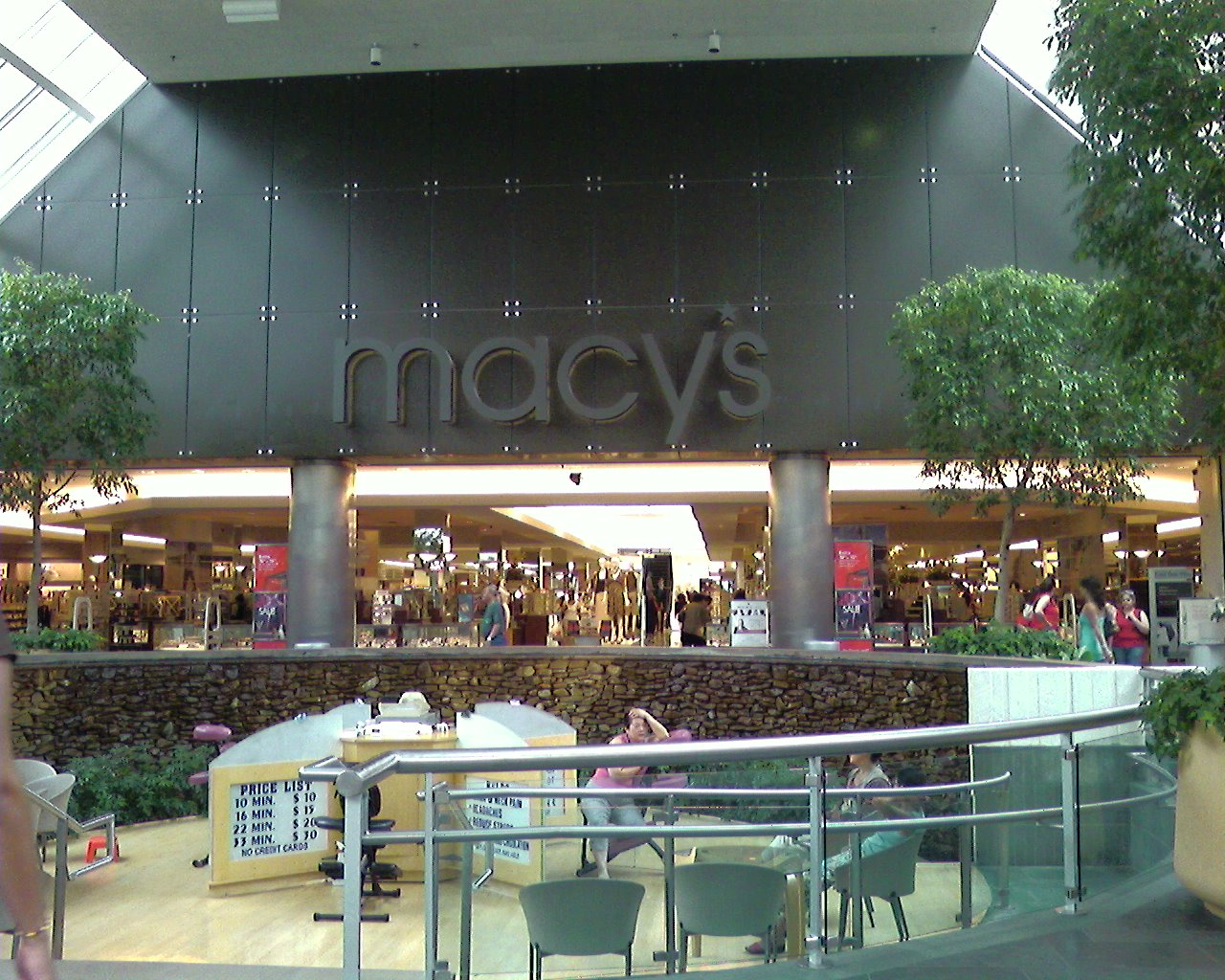Macy's at Paramus Park Mall in Paramus, New Jersey