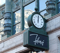 Filene's store in Boston's Downtown Crossing