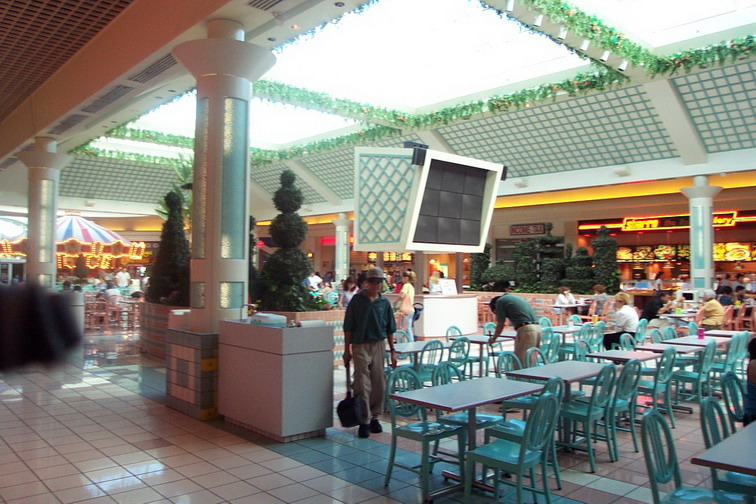 Mall Food Court Sign
