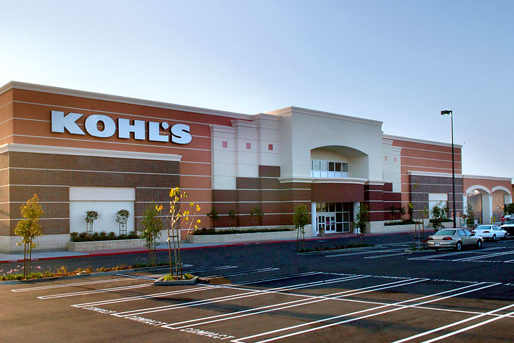 Kohl's 2-level store in Hayward, CA
