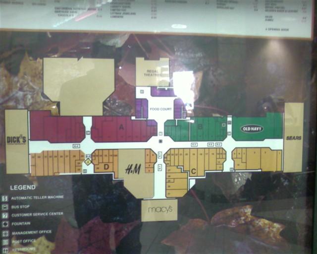 Great Northern Mall Map Rtlbreakfastclub