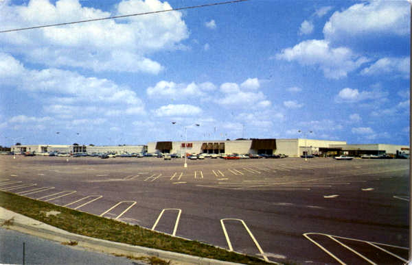 Vintage photo of Salisbury Mall in Salisbury, MD