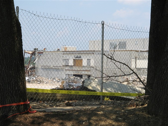Modern photo of Landover Mall rubble in Landover, MD