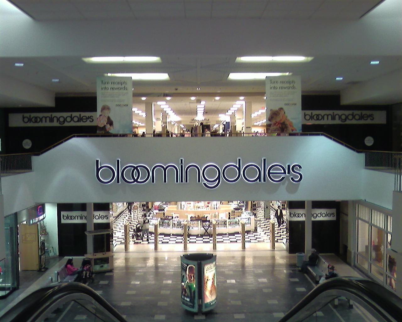 Bloomingdale's at Willowbrook Mall in Wayne, New Jersey