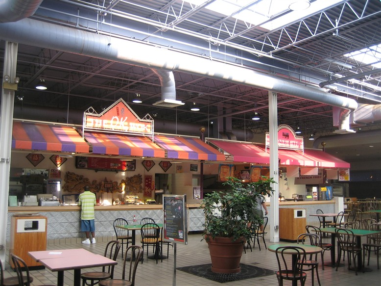 Woodville Mall Food Court in Northwood, OH