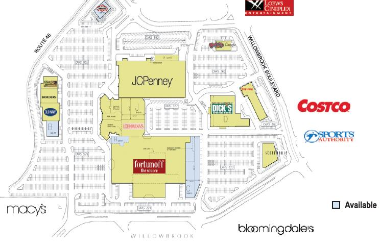 The plans for Wayne Towne Center