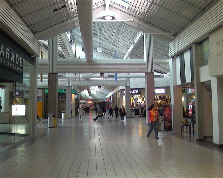 The Mall at Mill Creek in Secaucus, New Jersey