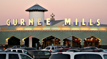 A typical Mills mall in Gurnee, IL