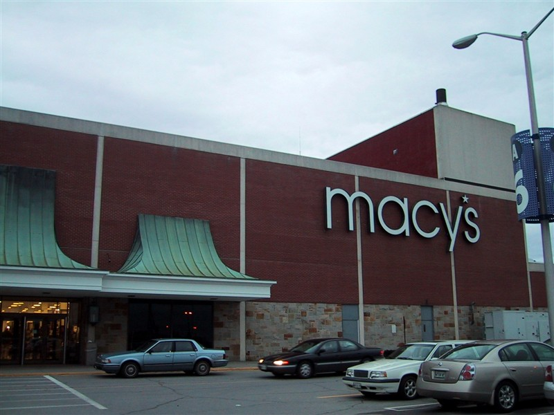 ... Maine Macy's (former Jordan Marsh) at the Maine Mall in South Portland,  Maine
