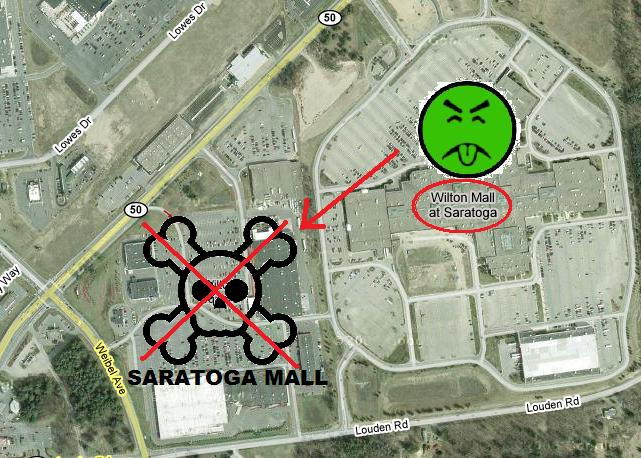 Wilton Mall versus Saratoga Mall: What happened?