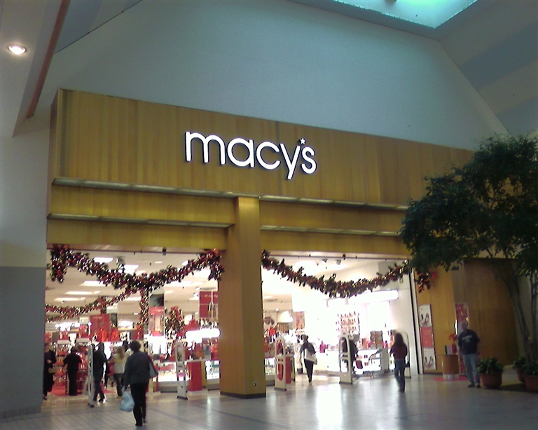 Macy's (former Bamberger's) at Monmouth Mall in Eatontown, NJ