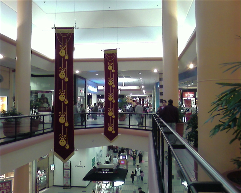 Two-level portion of Monmouth Mall in Eatontown, NJ ...