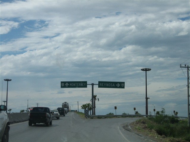 Mex 40 and Mex 2 Interchange, Reynosa, Mexico
