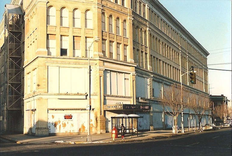 Original Steinbach's store in Asbury Park, NJ, taken in 1984