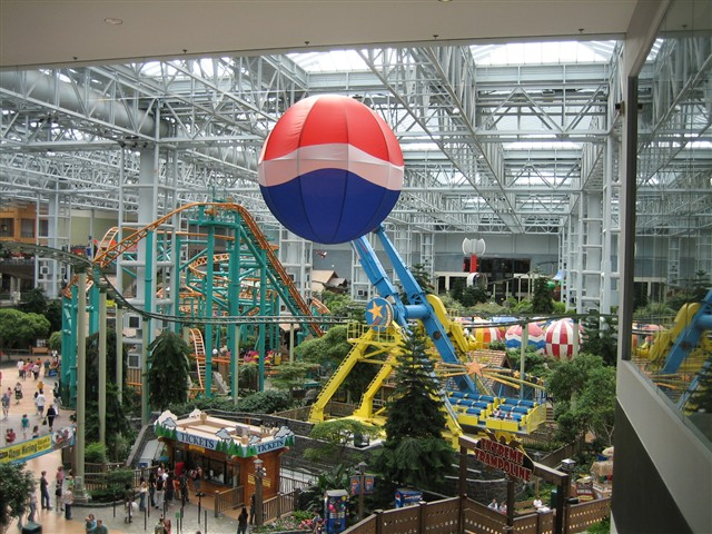 Mall of America Amusement Park in Bloomington, MN