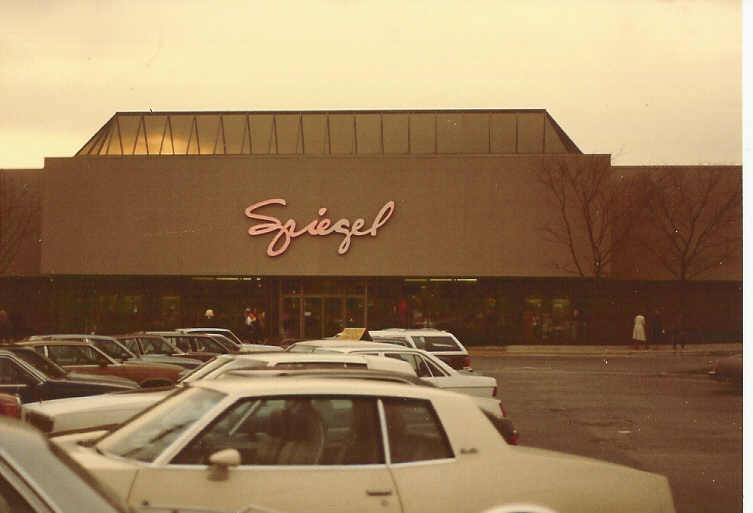 Johnson also closed Spiegel's remaining catalog stores. Johnson changed Spiegel's image to that of a