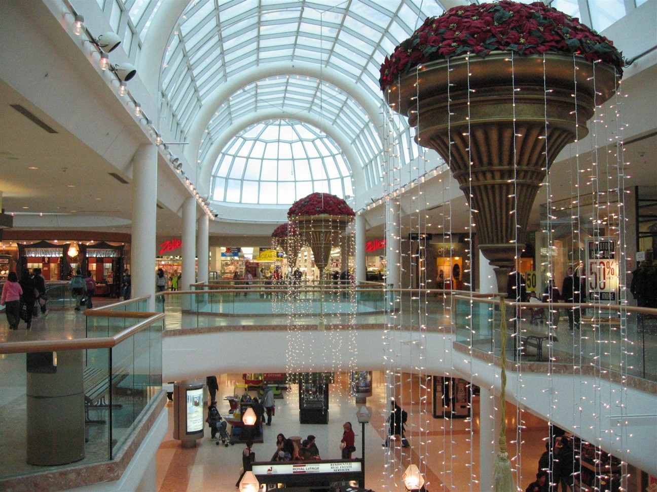 Square One Shopping Center in Mississauga, Ontario, Canada
