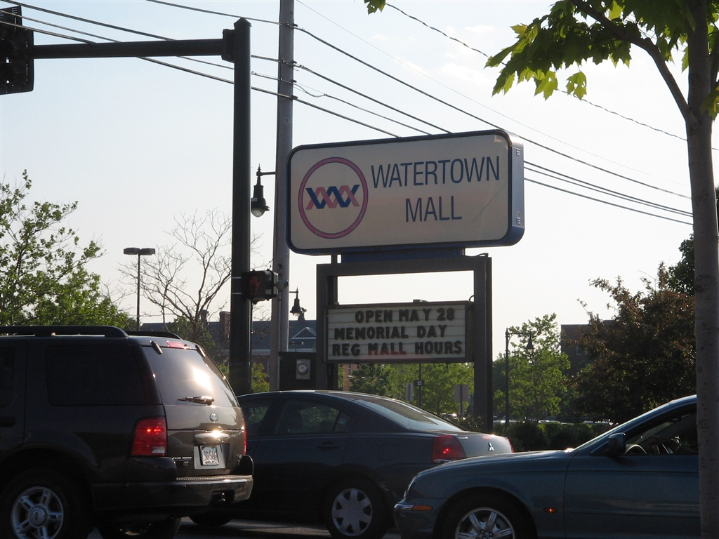 Watertown Mall in Watertown, MA