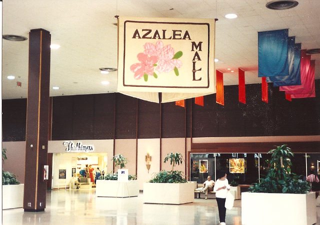 Azalea Mall in Richmond, VA, 1991