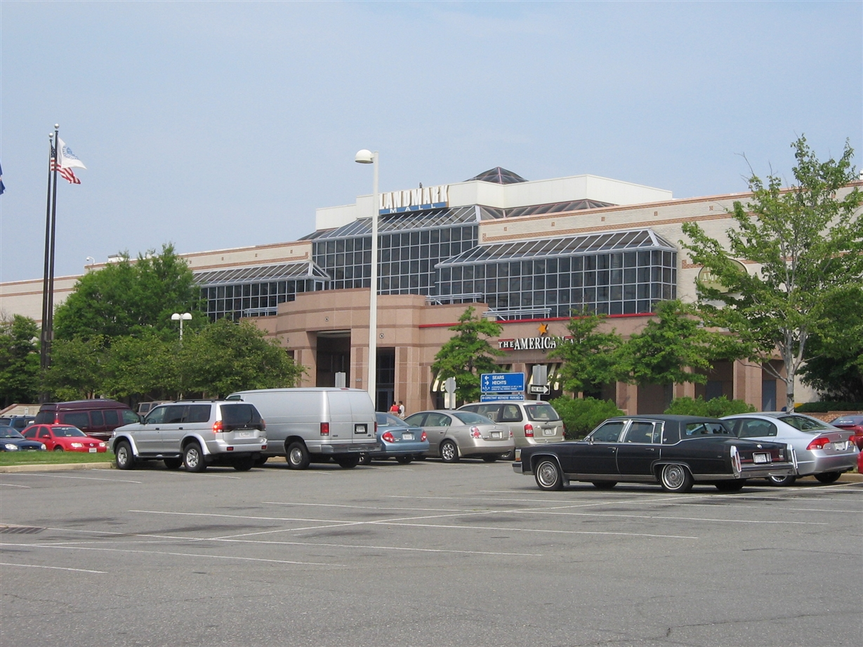 Landmark Mall in Alexandria, Virginia, July 2006