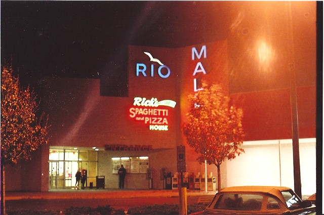 Historic view of Rio Mall in Rio Grande, New Jersey