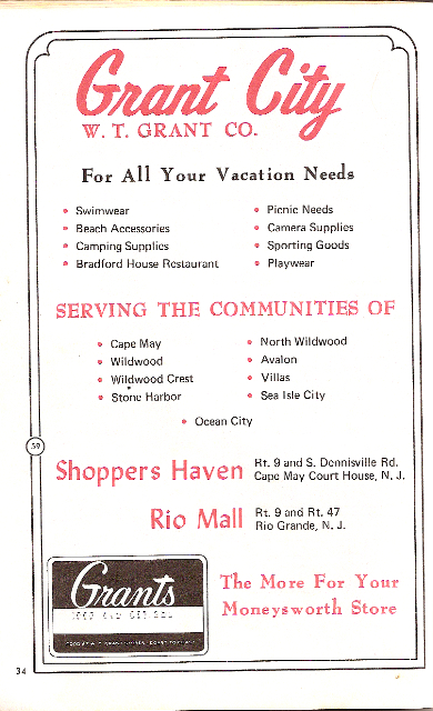 Historic Grant City Advertisement