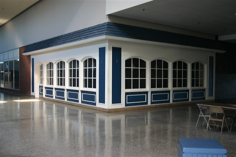 Former Woolworth's restaurant at Blue Hen Mall in Dover, Delaware