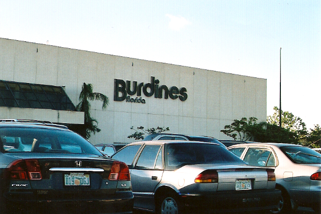 2004 photo of Burdine's at Palm Beach Mall in West Palm Beach, FL