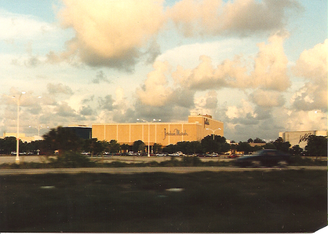 Jordan Marsh at Palm Beach Mall in West Palm Beach, FL, 7/91