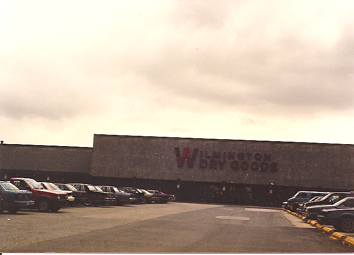 Wilmington Dry Goods at Tri-State Mall in Claymont, Delaware 1987