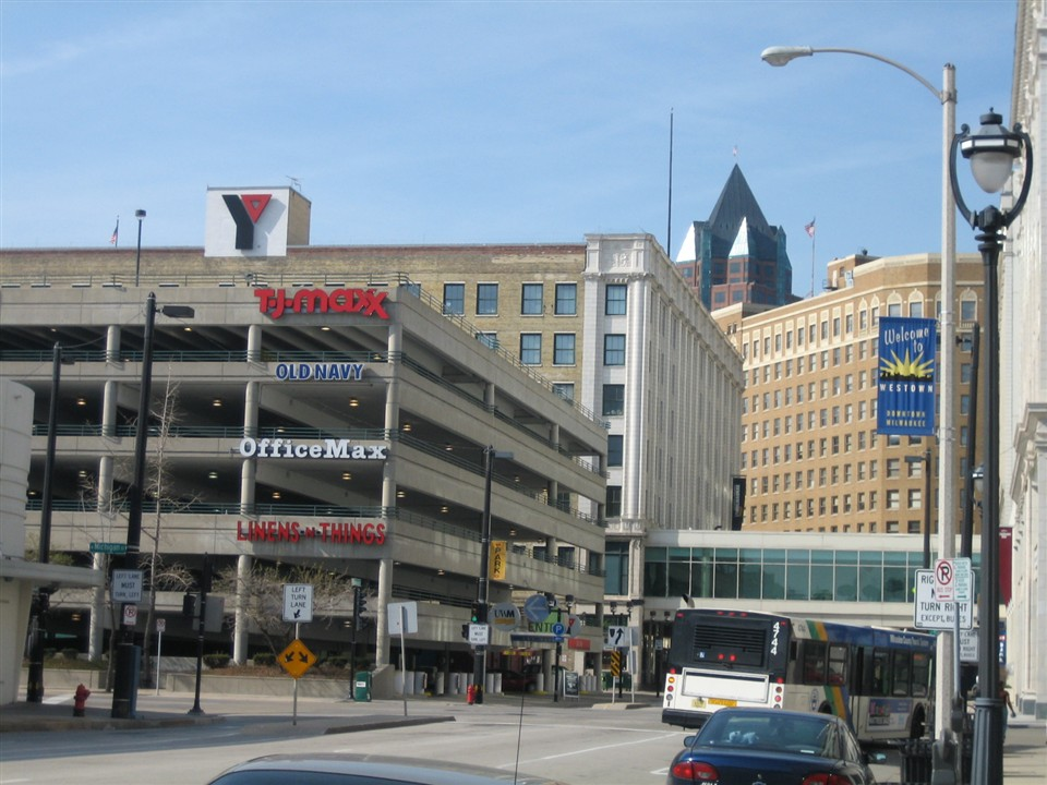 Grand Avenue Mall in Milwaukee, WI