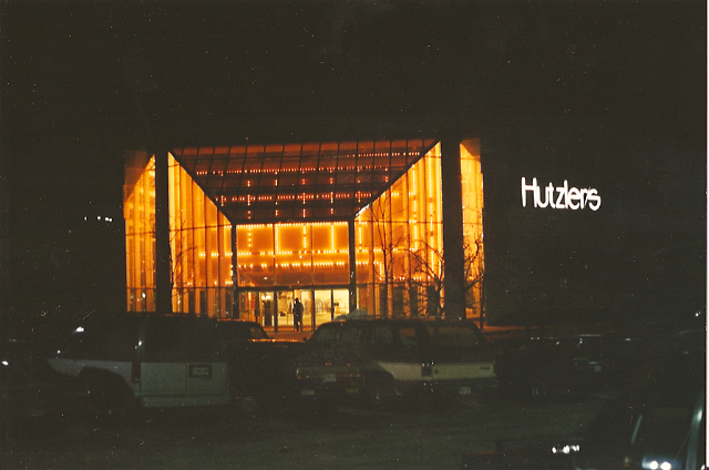 Hutzler's, White Marsh Mall, Baltimore, Maryland, 1989